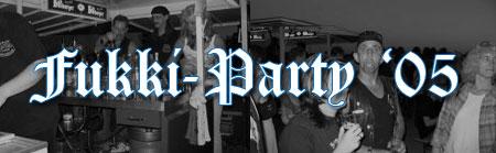 Bilder der Fukki-Party 2005
