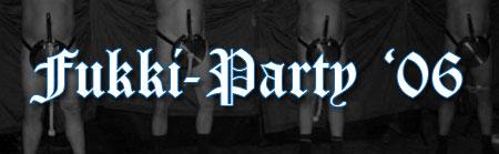 Bilder der Fukki-Party 2006