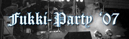 Bilder der Fukki-Party 2007